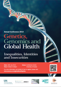 genetics, genomics, global health